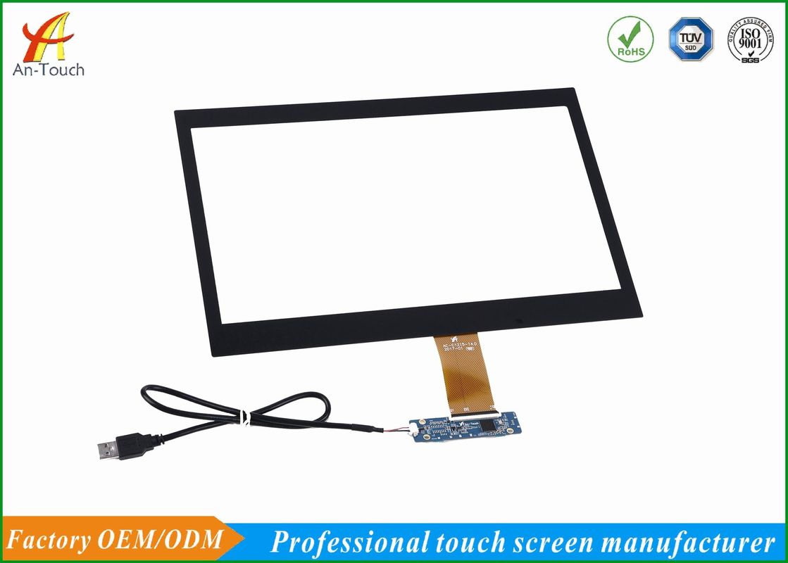 Anti - Collision Projected 14 Inch Touch Screen Display Panel For POS Monitor